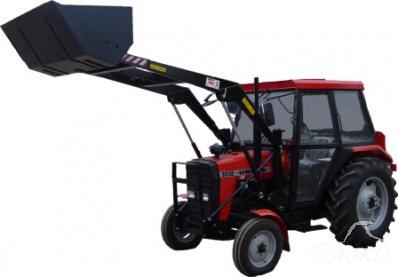 Naudoti traktoriai su frontaliniais krautuvais